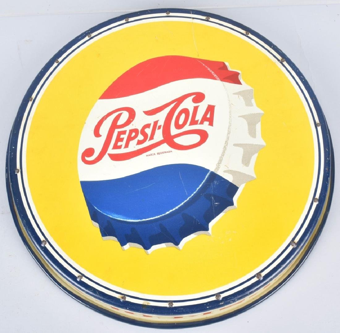 1953 PEPSI CAP SERVING TRAY FOREIGN - 7