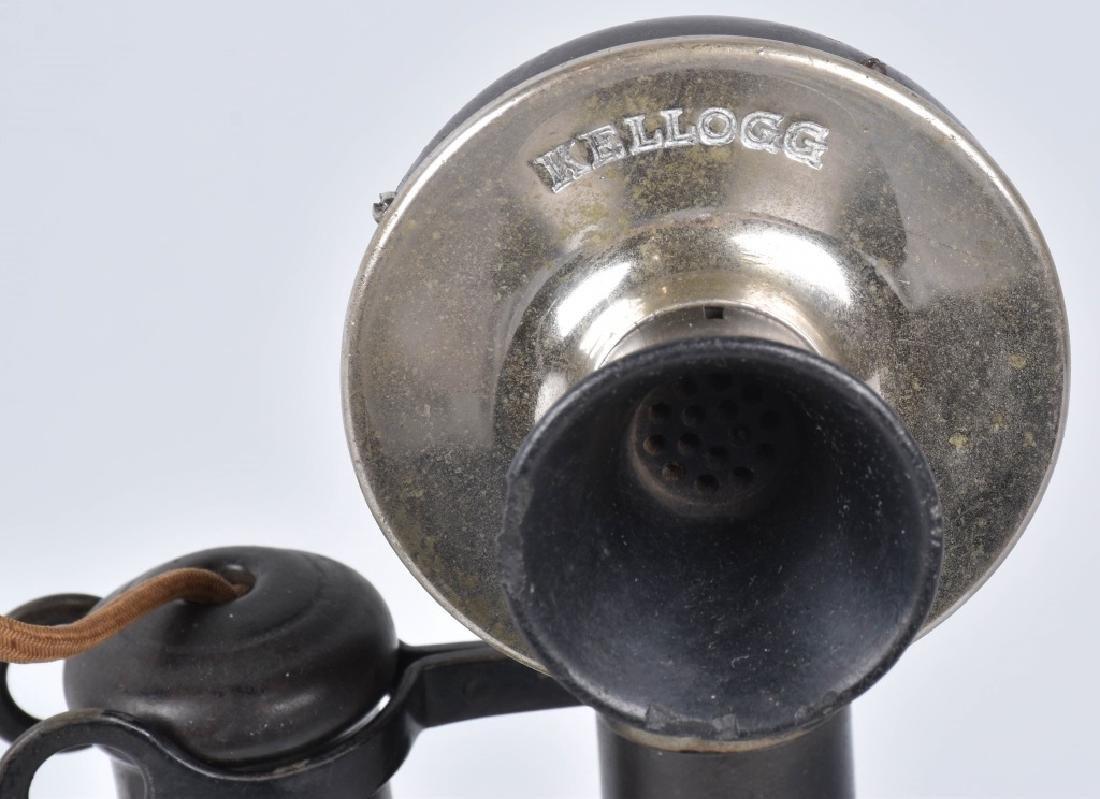 KELLOGG CANDLESTICK TELEPHONE - 2