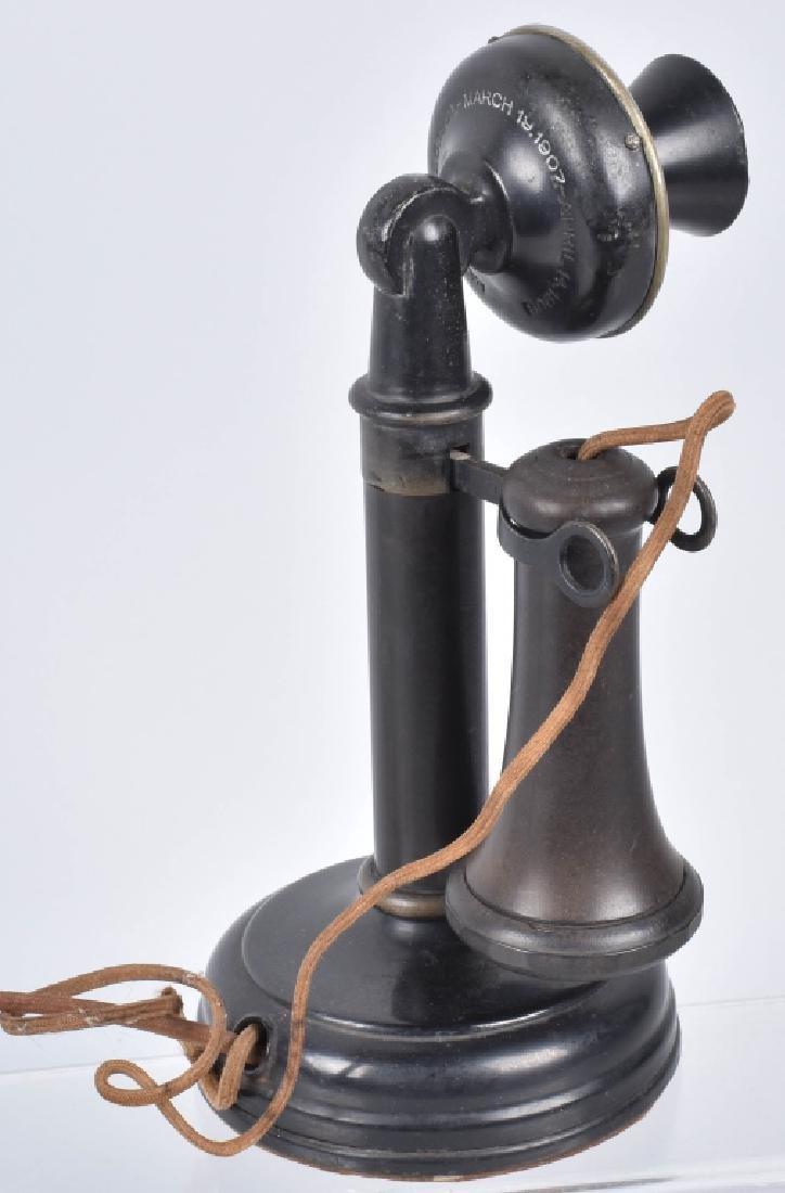 KELLOGG CANDLESTICK TELEPHONE - 3
