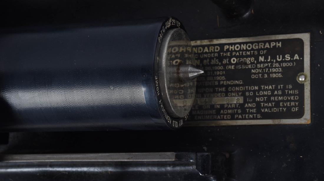EDISON STANDARD CYLINDER PHONOGRAPH & MORE - 3