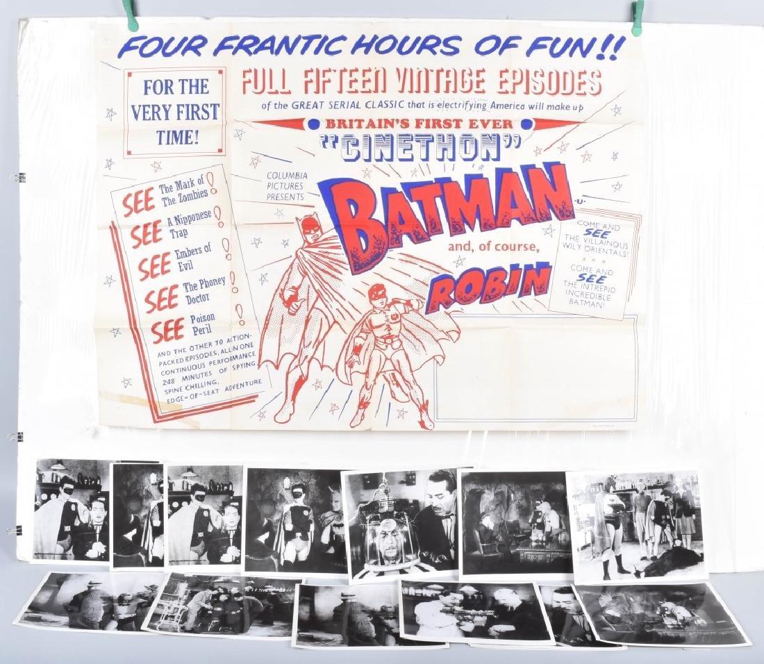 BATMAN & ROBIN MOVIE POSTER & STILL PHOTOS