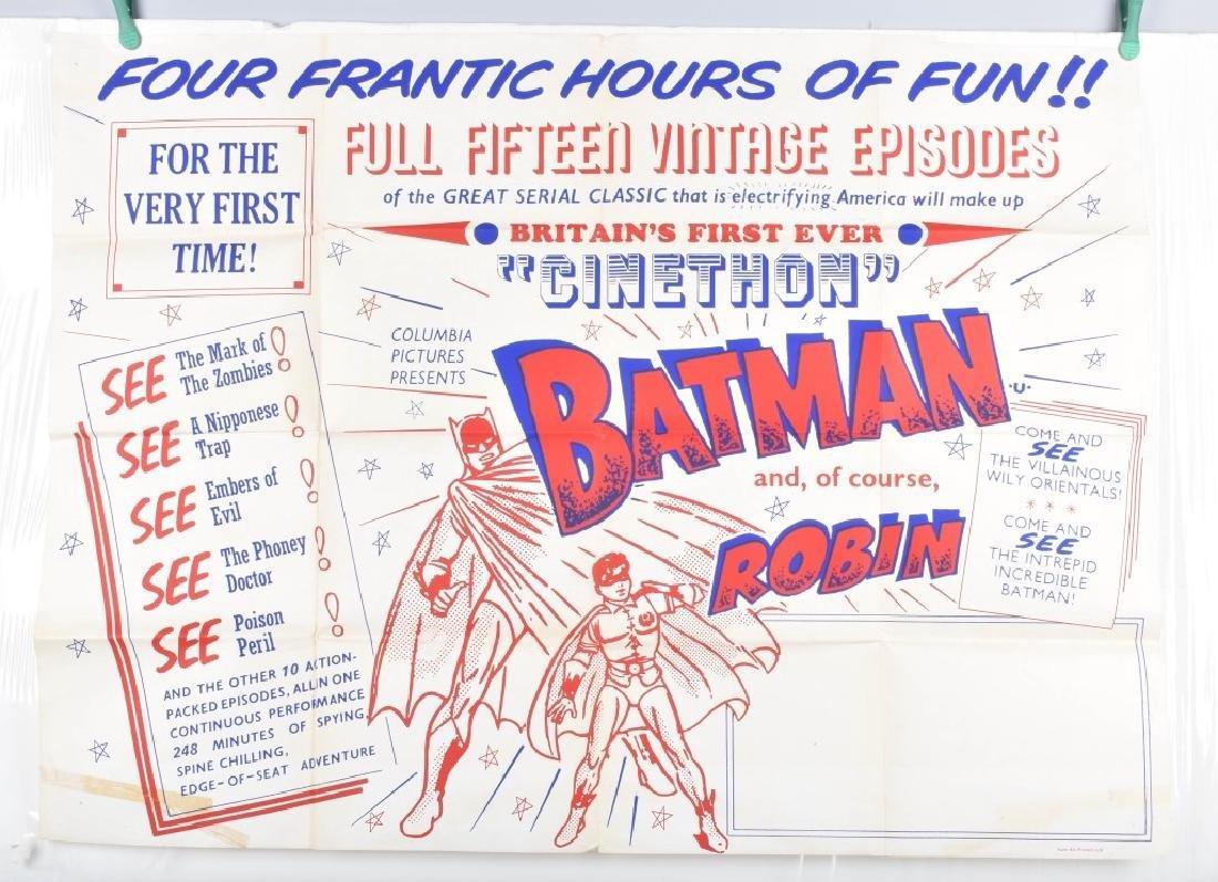 BATMAN & ROBIN MOVIE POSTER & STILL PHOTOS - 2