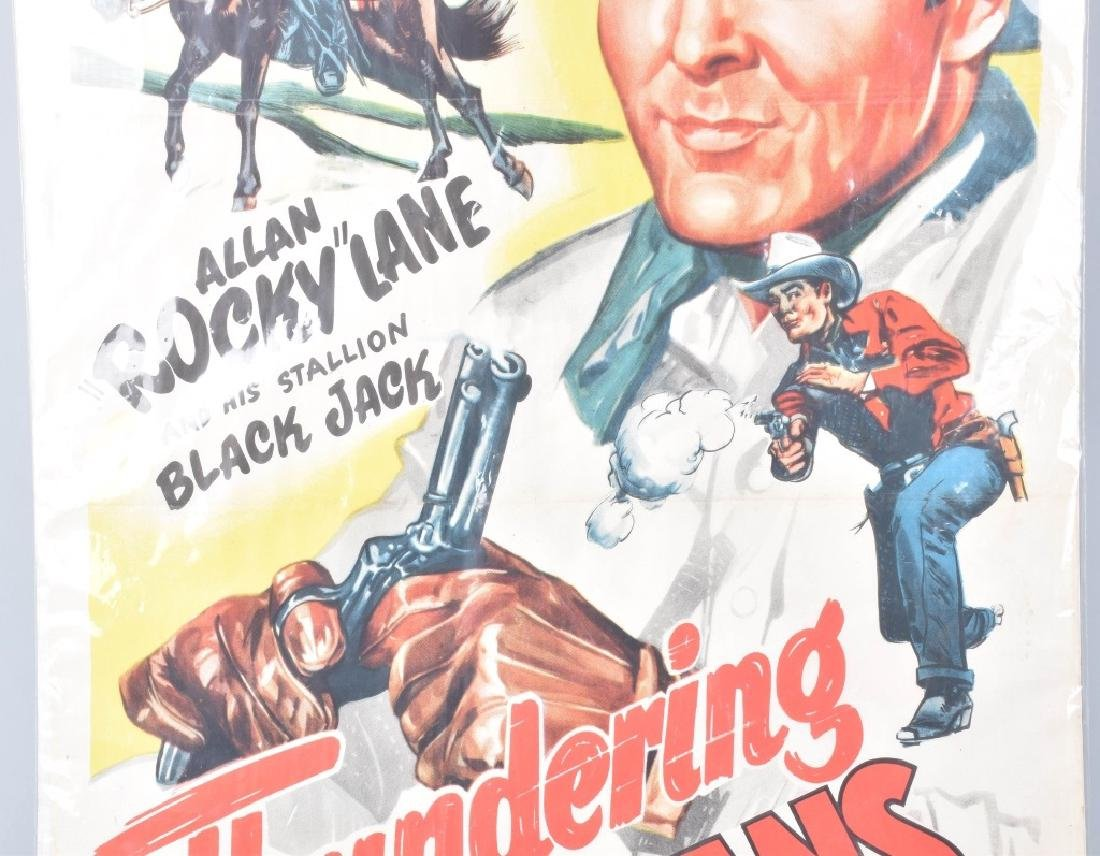 THUNDERING CARAVANS COWBOY MOVIE POSTER - 3