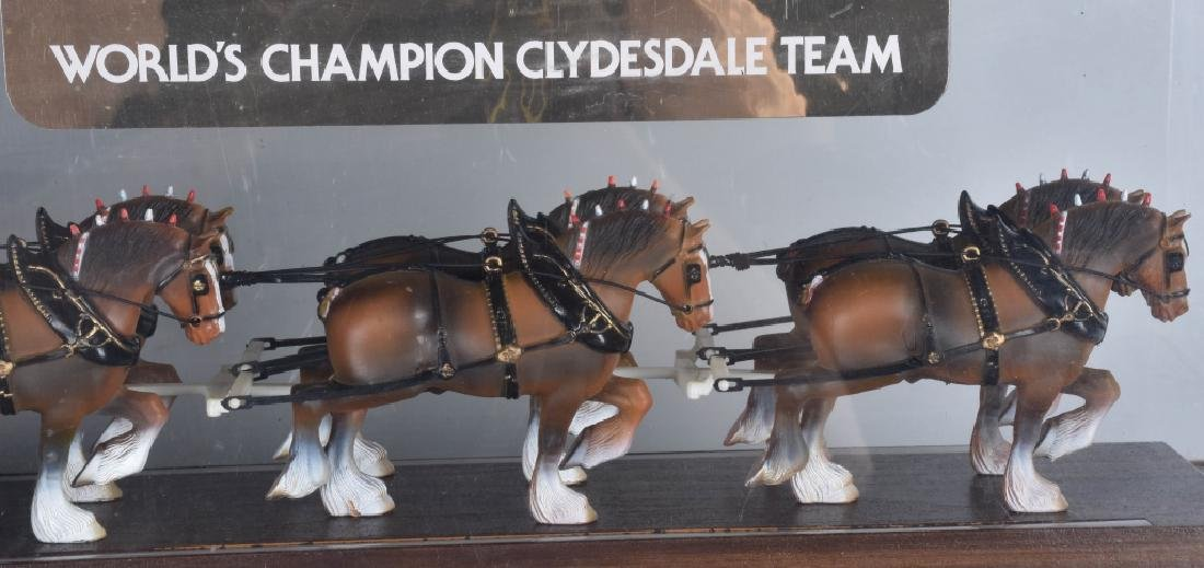 BUDWEISER CLYDESDALE LIGHT UP DISPLAY - 5