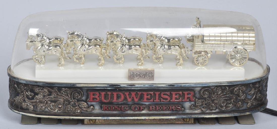 VINTAGE BUDWEISER LIGHT UPCASH REGISTER TOP