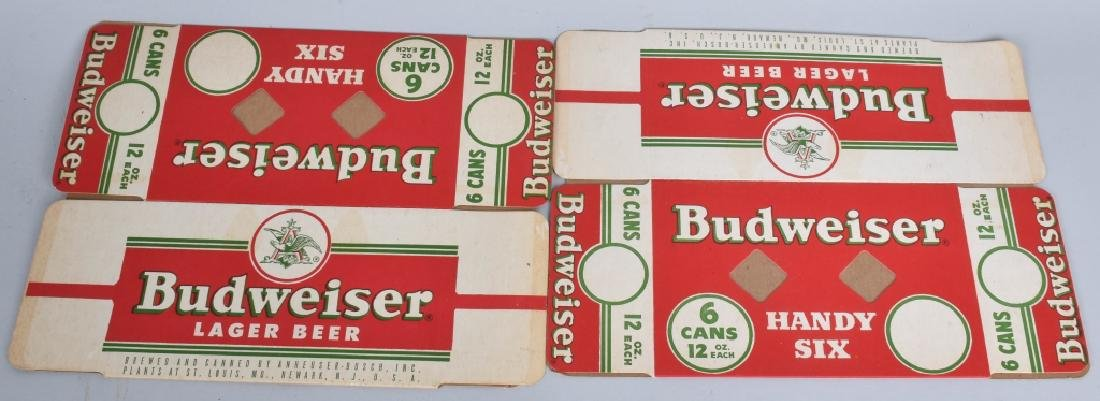 LOT OF BUDWEISER CARDBOARD SIGNS & MORE - 5