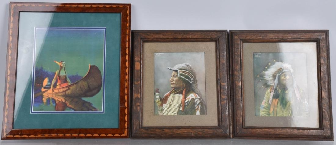 3- INDIAN PICTURES WITH FRAMES