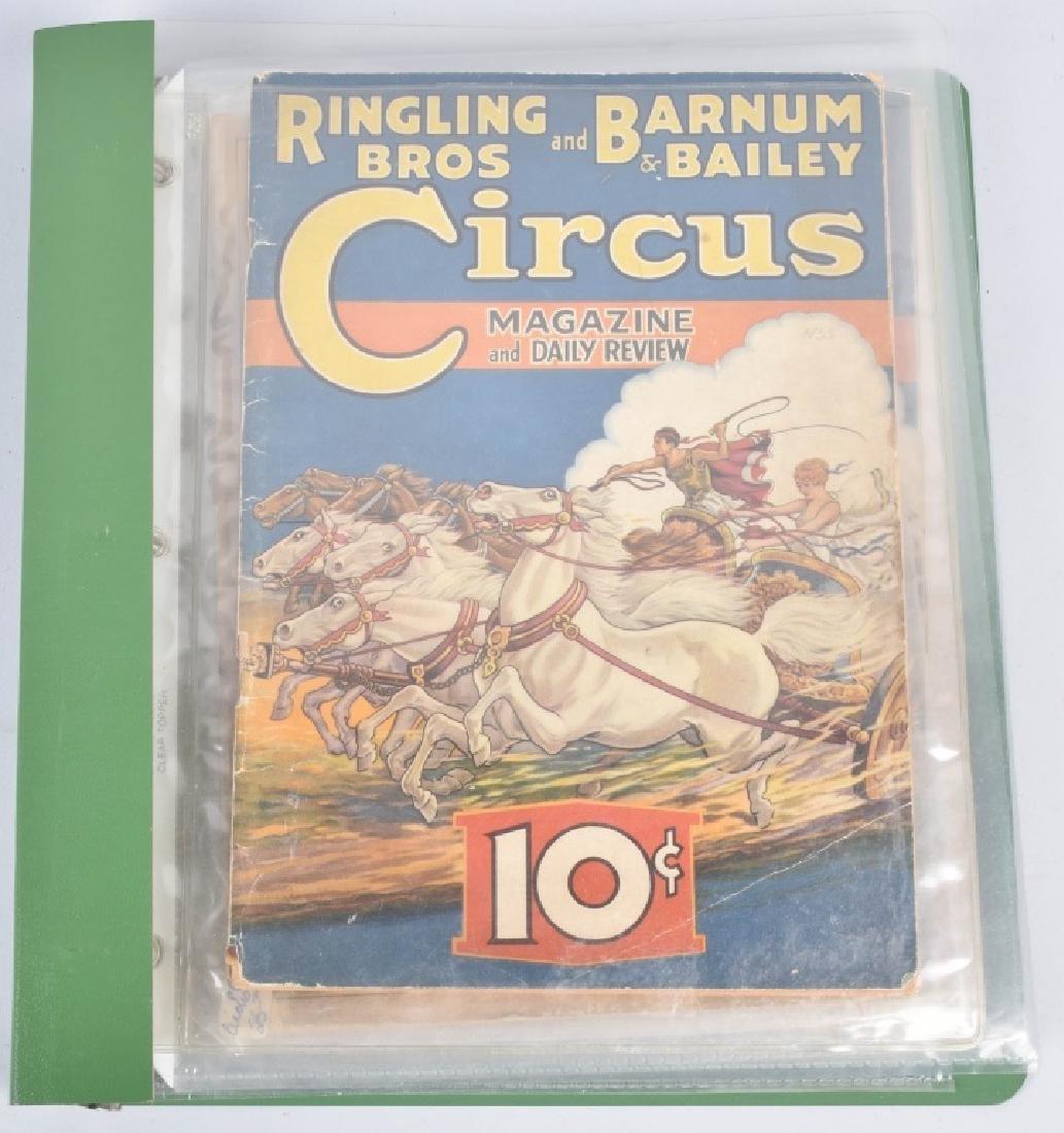 5- 1920s-30s RINGLING BROS CIRCUS PROGRAMS