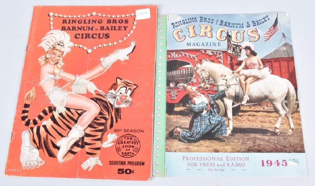 1930s-60s 30+ RINGLING BROS CIRCUS PROGRAMS - 3