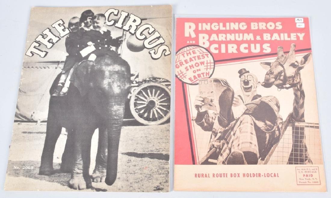 1930s-60s 30+ RINGLING BROS CIRCUS PROGRAMS - 4