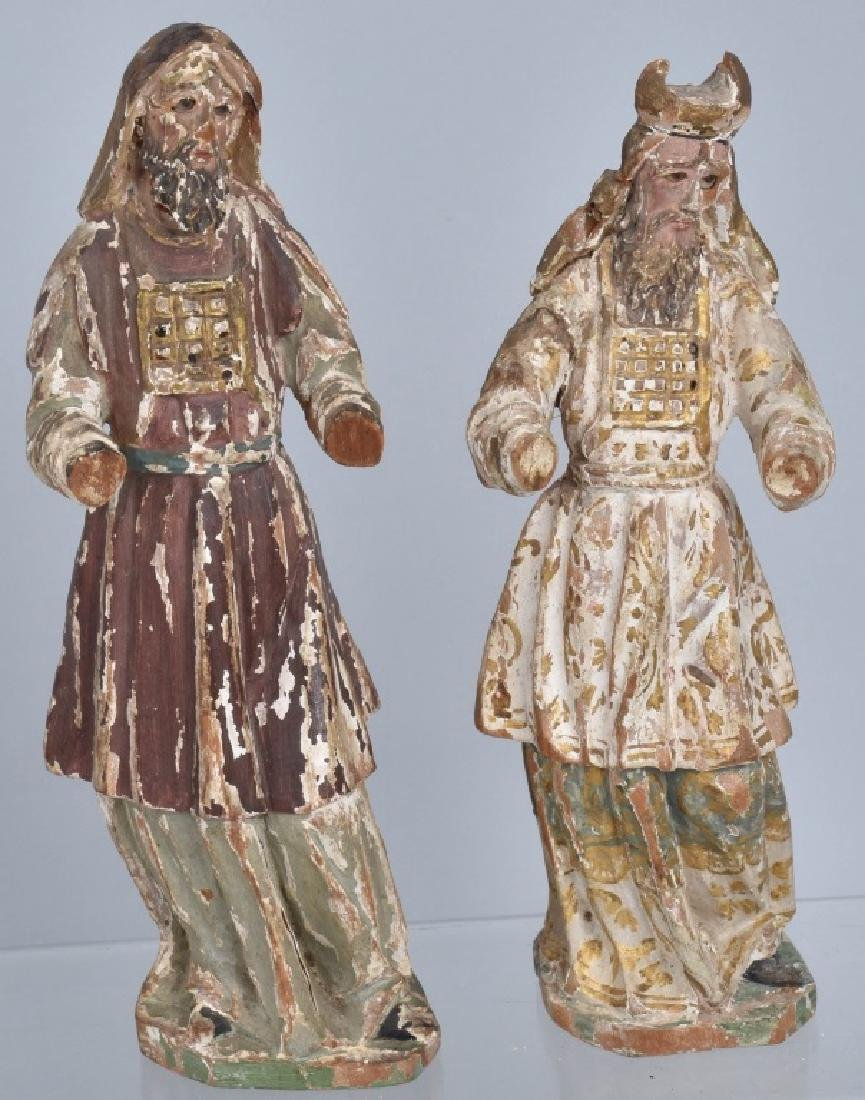 3-SANTOS NEW MEXICO WOOD CARVINGS - 5