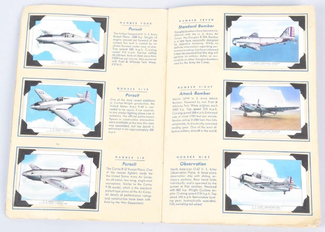 50-WINGS AIRPLANE CIGARETTE CARDS in ALBUM - 2
