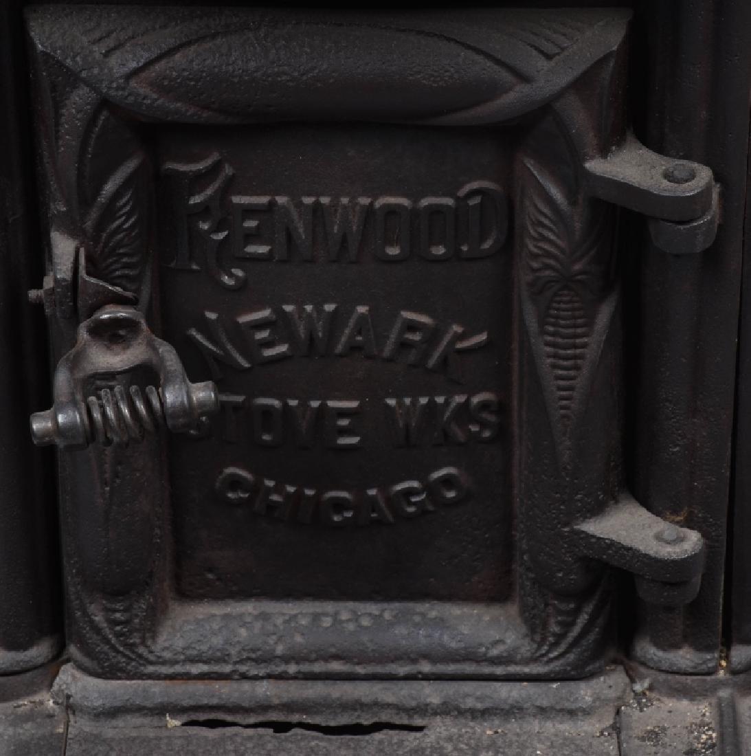 ANTIQUE KENWOOD BUTCHER'S RENDERING STOVE - 3