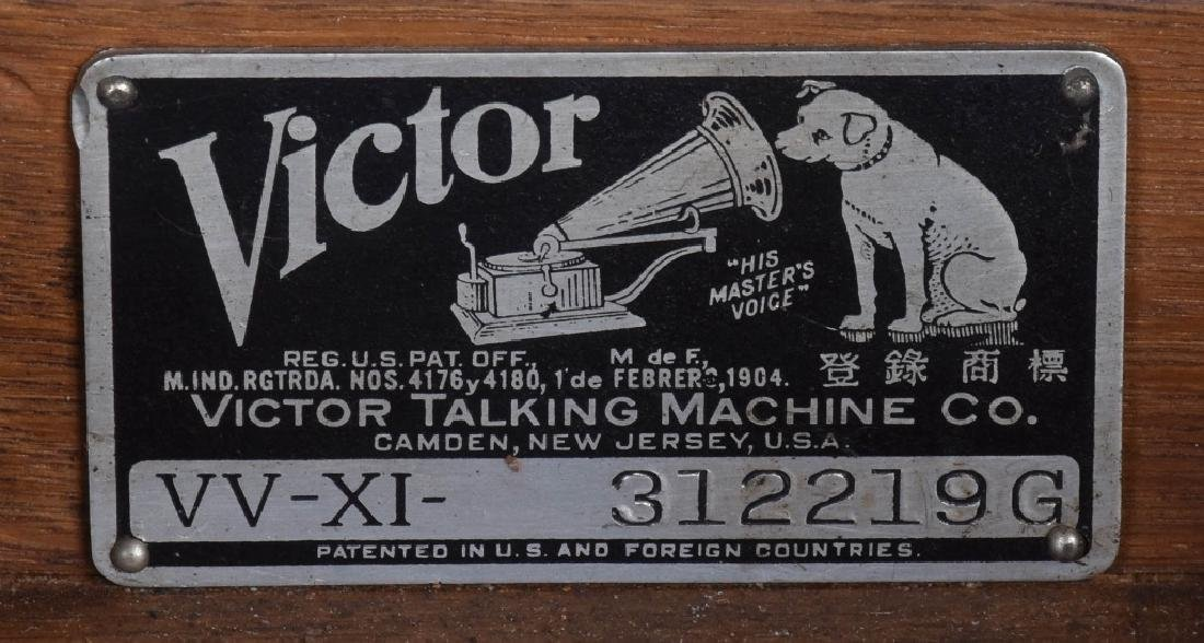1917 VICTOR VICTROLA XI-G - 4