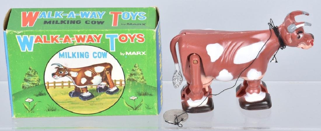 MARX PLASTIC COW TOYS, BOXED, and MORE - 3