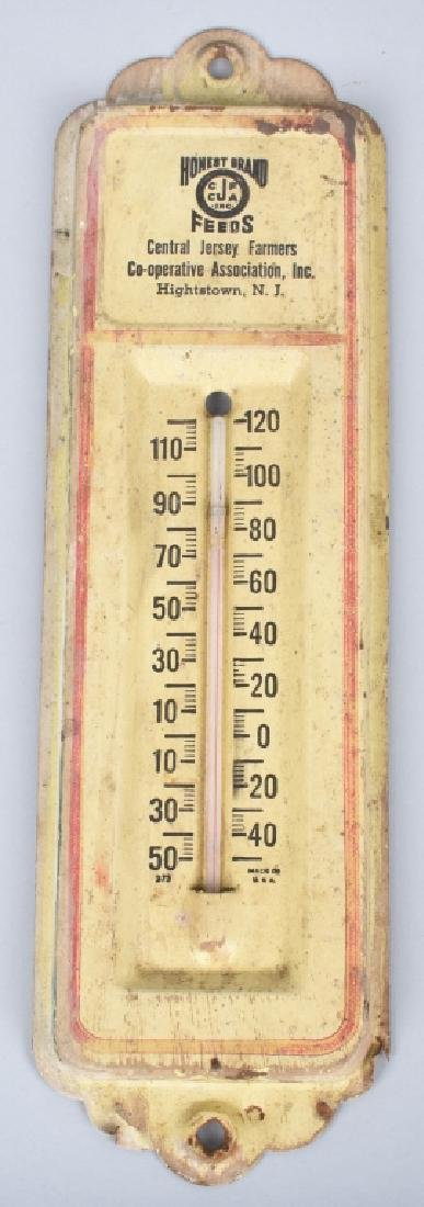 3-VINTAGE ADVERTISING THERMOMETERS - 3