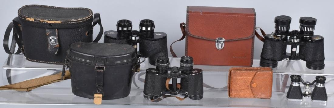 4-PAIRS BINNOCULARS, CARL ZEISS and MORE