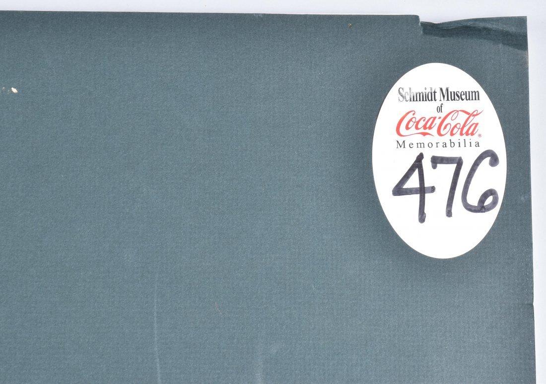 COCA COLA SERVE COKE AT HOME POSTER, VINTAGE - 4