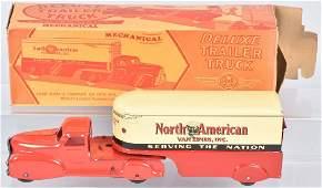 MARX Windup NORTH AMERICAN VAN LINES TRUCK w/ BOX