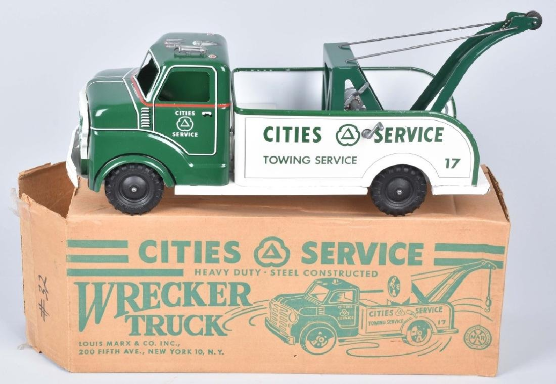 MARX CITIES SERVICE WRECKER TRUCK MIB