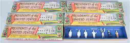 5 MARX PRESIDENTS OF THE UNITED STATES SETS