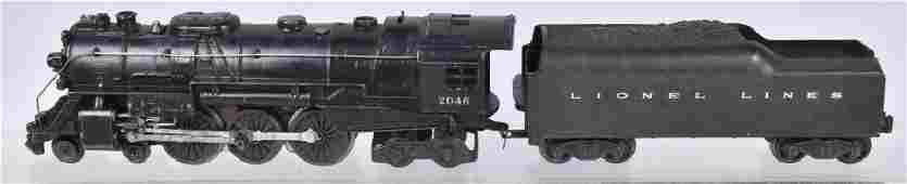 LIONEL #2046 STEAM ENGINE & TENDER
