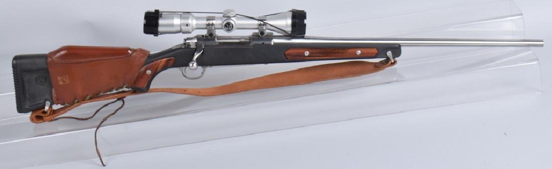 RUGER M77, 7.62 x 39 BOLT ACTION RIFLE