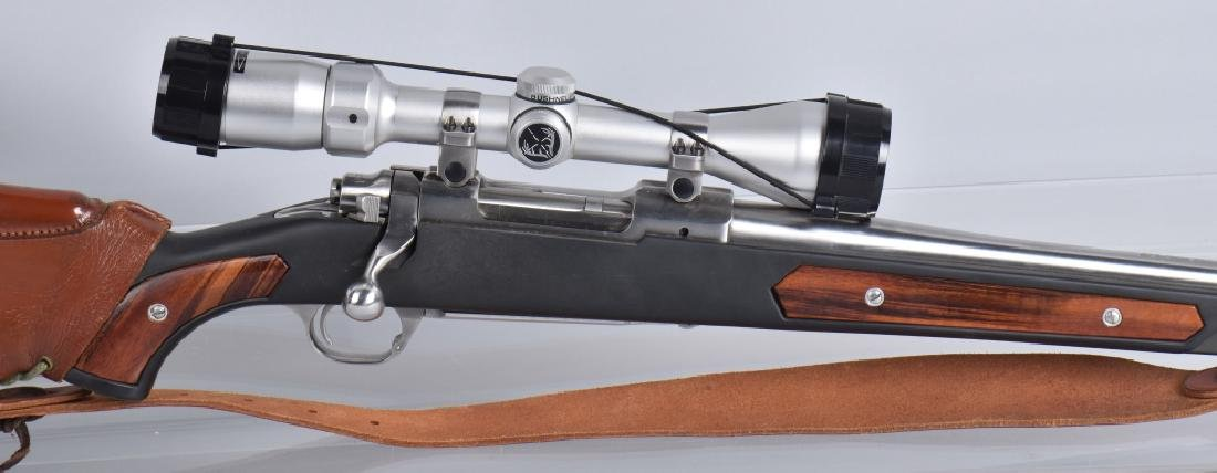 RUGER M77, 7.62 x 39 BOLT ACTION RIFLE - 4