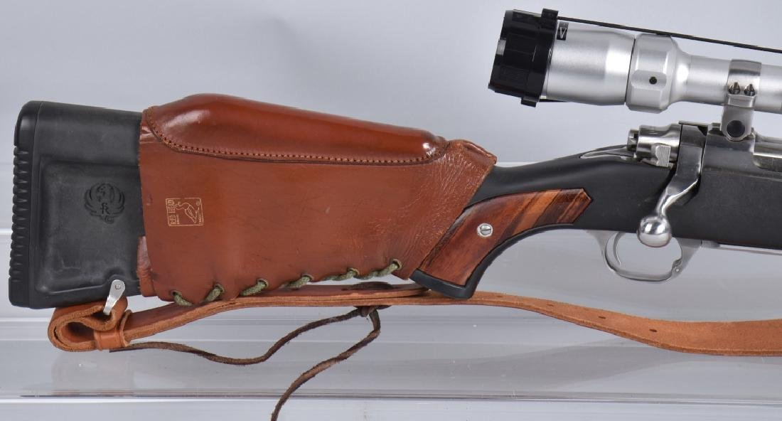 RUGER M77, 7.62 x 39 BOLT ACTION RIFLE - 5