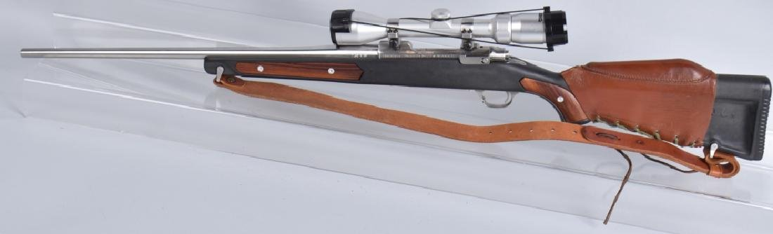 RUGER M77, 7.62 x 39 BOLT ACTION RIFLE - 7