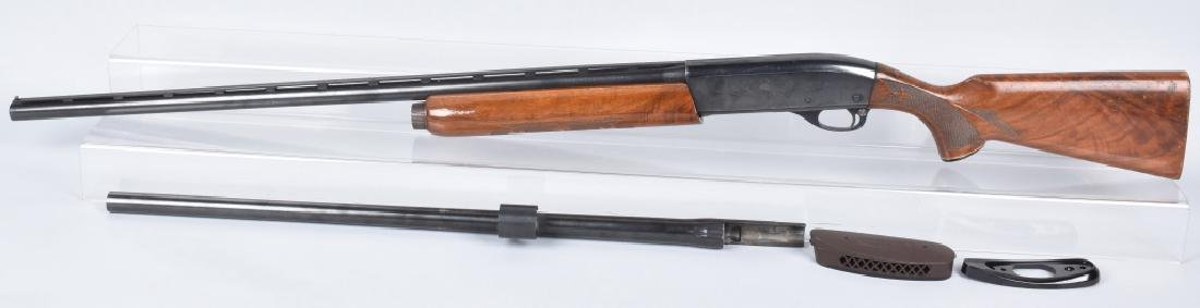 REMINGTON MODEL 1100 TRAP 12 GA. SHOTGUN & BARREL