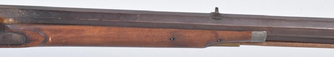 1850's PERCUSSION .34 HALF STOCK RIFLE - 4