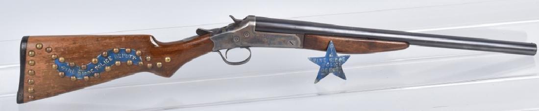 STEVENS 12 GA. SHOTGUN, PINE RIDGE INDIAN AFFAIRS