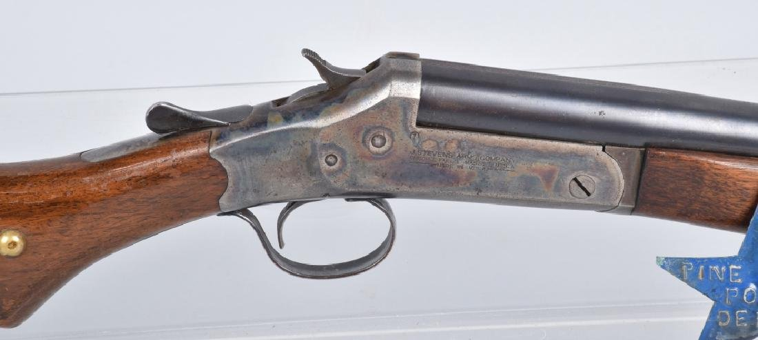 STEVENS 12 GA. SHOTGUN, PINE RIDGE INDIAN AFFAIRS - 6