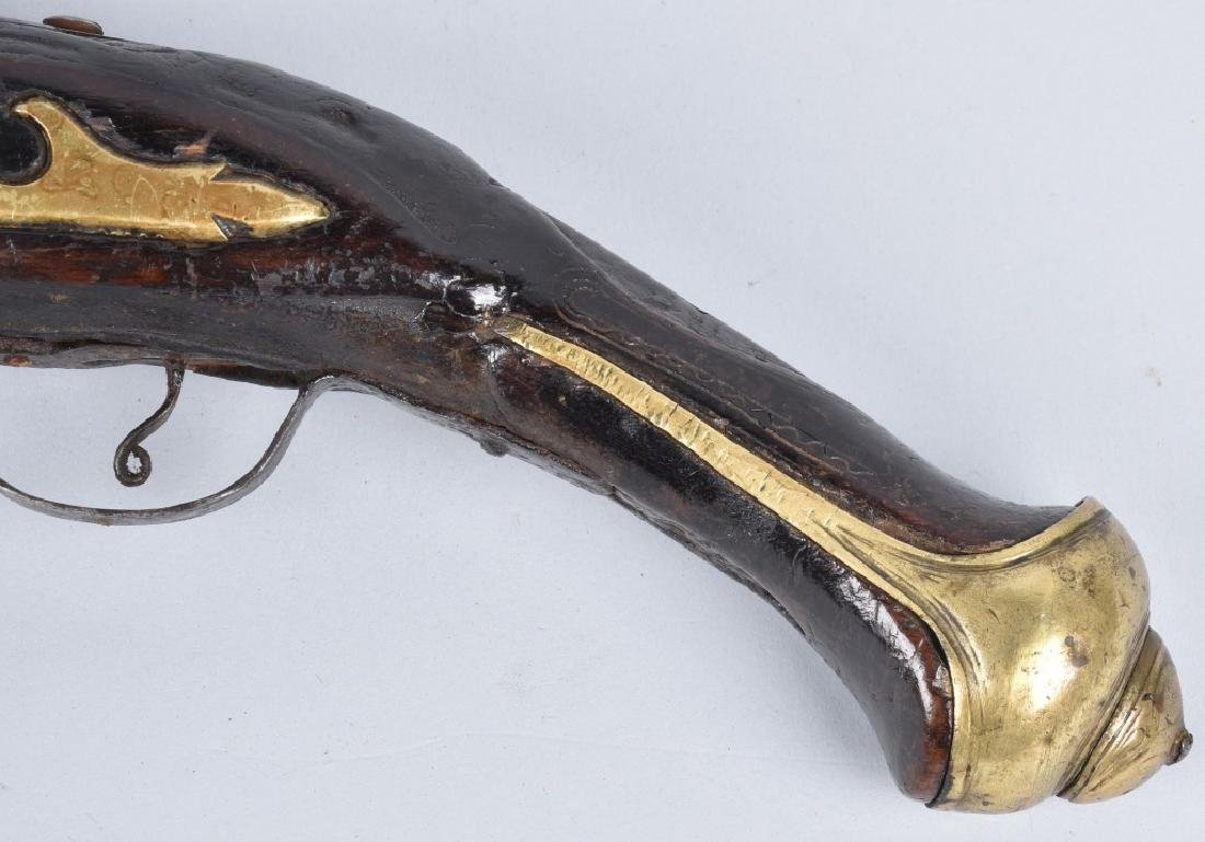 FLINTLOCK .69 MID EAST PISTOL - 8