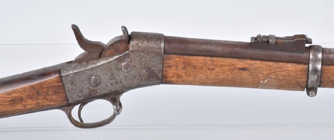 1870 REMINGTON ROLLING BLOCK 50-70 RIFLE - 6