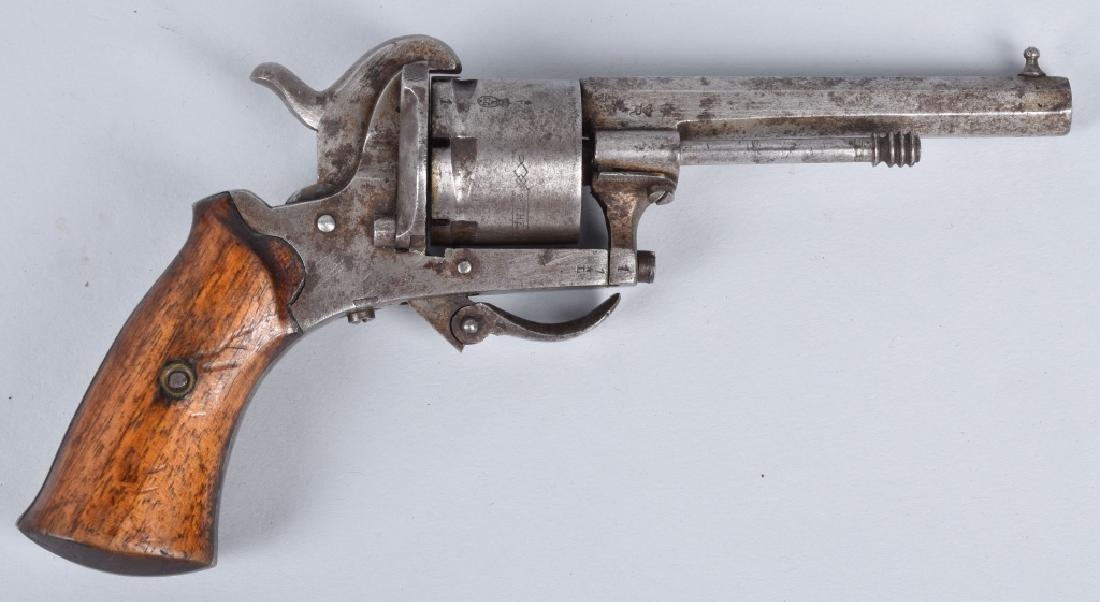 M1878 AMERICAN GUARDIAN 7mm PINFIRE REVOLVER - 2