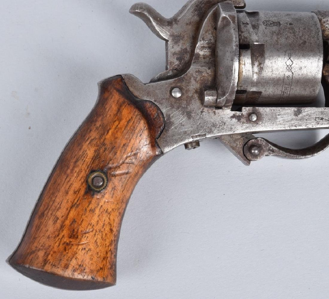 M1878 AMERICAN GUARDIAN 7mm PINFIRE REVOLVER - 3
