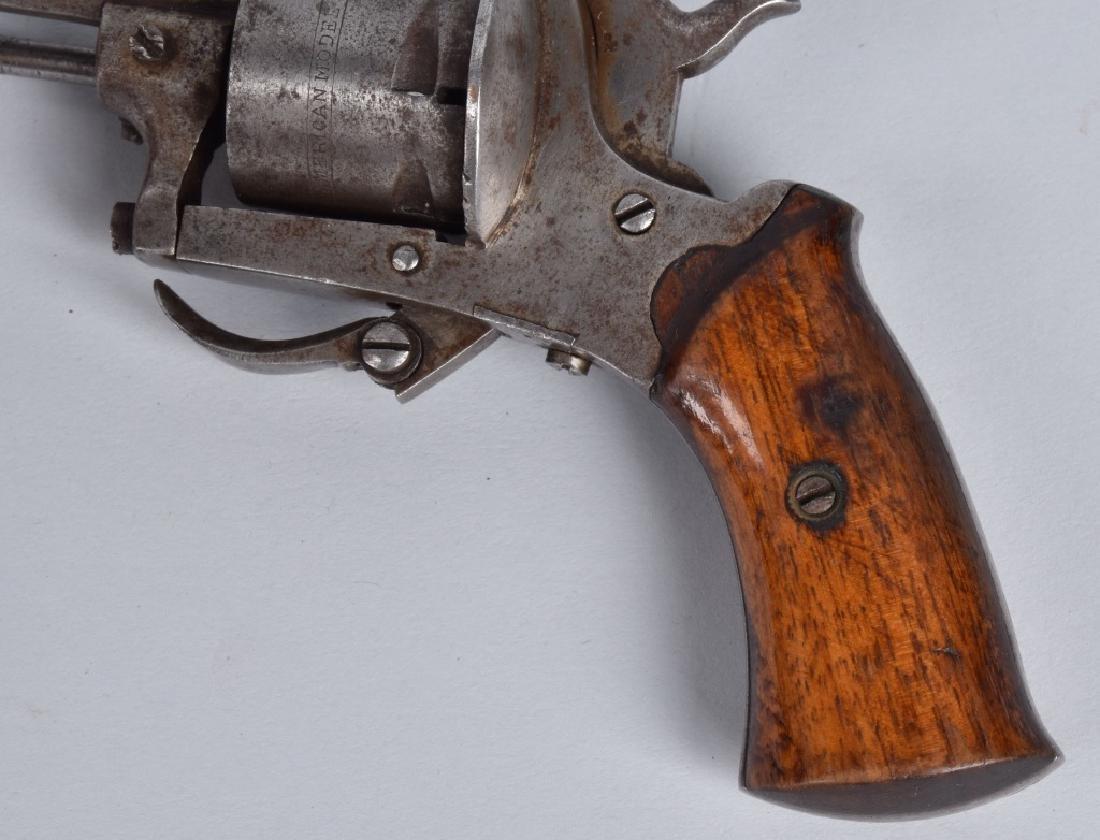 M1878 AMERICAN GUARDIAN 7mm PINFIRE REVOLVER - 4