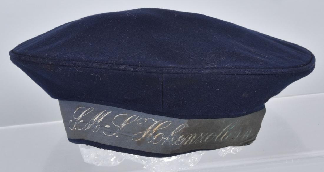 IMPERIAL GERMAN NAVY SMY HOHENZOLLERN HAT