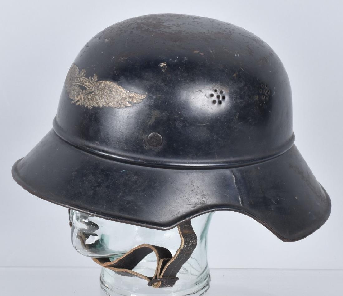 WW2 NAZI GERMAN LUFTSCHUTZ HELMET