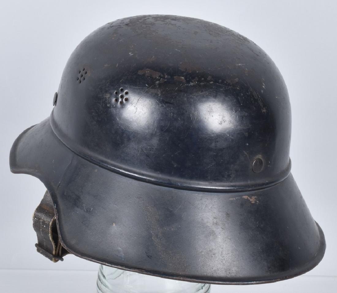 WW2 NAZI GERMAN LUFTSCHUTZ HELMET - 2