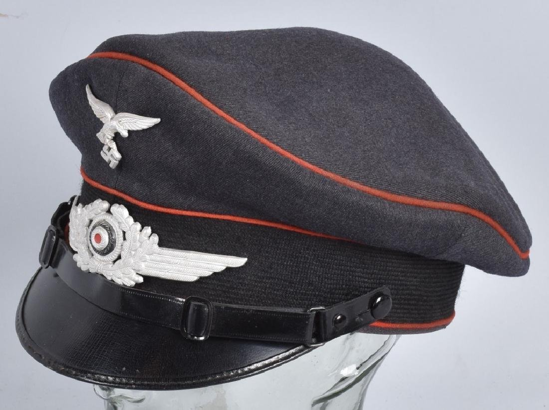 WW2 NAZI GERMAN LUFTWAFFE VISOR HAT