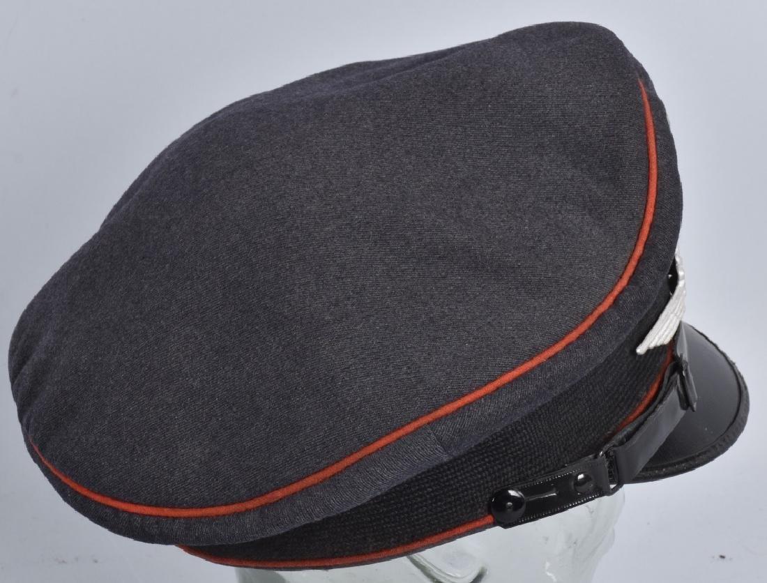 WW2 NAZI GERMAN LUFTWAFFE VISOR HAT - 3
