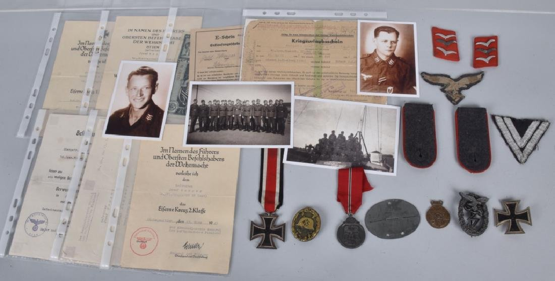 WW2 NAZI GERMAN IDENTIFIED GROUPING