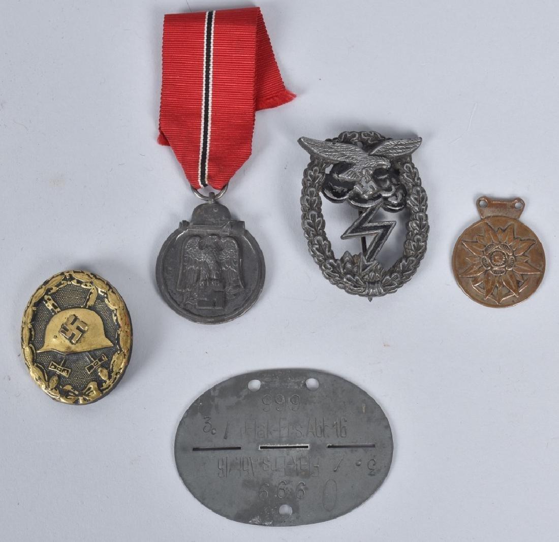 WW2 NAZI GERMAN IDENTIFIED GROUPING - 5