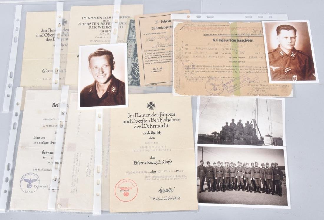 WW2 NAZI GERMAN IDENTIFIED GROUPING - 7