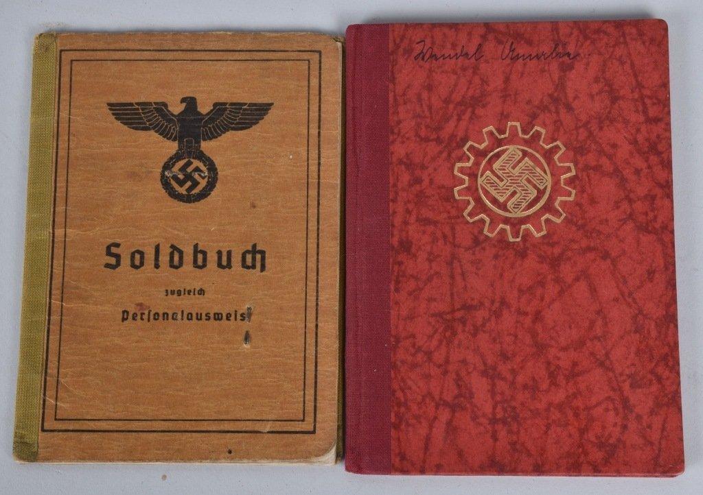 WW2 NAZI GERMAN SOLBUCHS