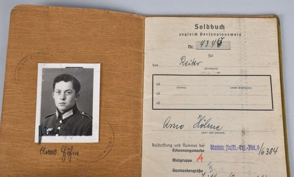 WW2 NAZI GERMAN SOLBUCHS - 2