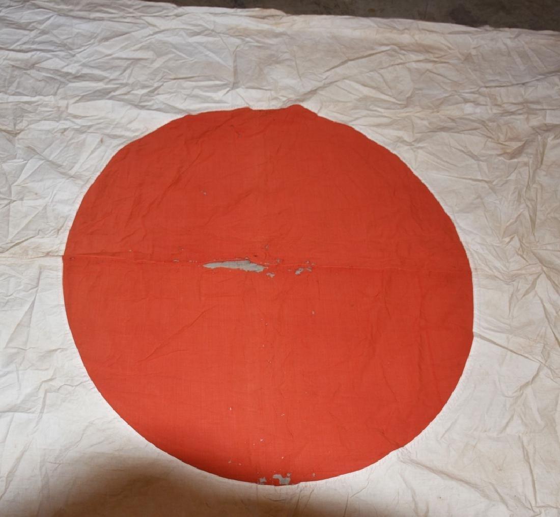 WW2 JAPANESE FLAG from LIGHT CRUISER NAKA - 2